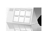 Календарь домик 215х105 (215х310 в развороте)
