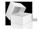 Коробка самосборная 102х102х35 мм